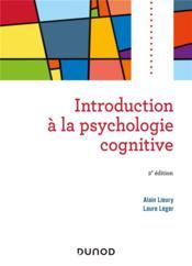 Introduction à la psychologie cognitive (2e édition) - Couverture - Format classique