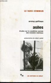 Asiles Goffman - Couverture - Format classique