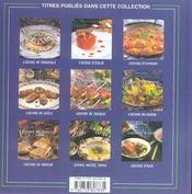 Cuisine d'asie - 4ème de couverture - Format classique