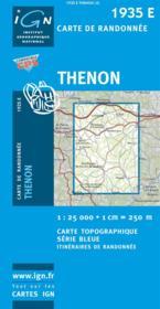 Thenon - Couverture - Format classique