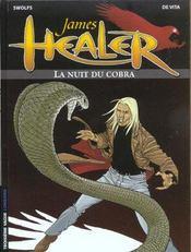 James Healer t.2 ; la nuit du cobra - Intérieur - Format classique