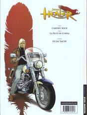 James Healer t.2 ; la nuit du cobra - 4ème de couverture - Format classique