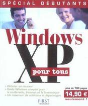 Windows Xp Pour Tous - Intérieur - Format classique