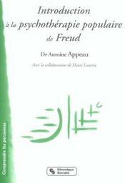 Introduction a la psychotherapie populaire de freud l'experience de la chavannerie - Intérieur - Format classique