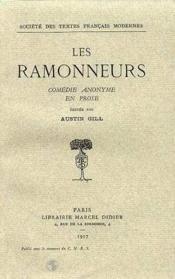 Les ramonneurs. comedie anonyme en prose - Couverture - Format classique