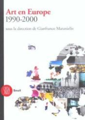 Art en Europe (l') 1990-2000 - Couverture - Format classique