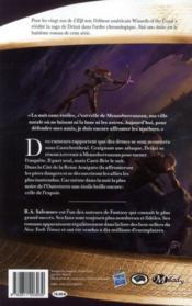 Les Royaumes Oubliés - la légende de Drizzt T.8 ; nuit sans étoiles - 4ème de couverture - Format classique
