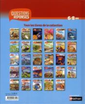 Châteaux et chevaliers - 4ème de couverture - Format classique
