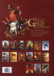 La geste des chevaliers dragons T.14 ; la première - 4ème de couverture - Format classique