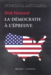 La democratie a l epreuve - Intérieur - Format classique