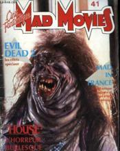 Mad Movies Cine Fantastique N°41 - Couverture - Format classique