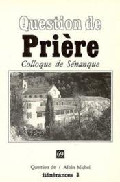 Prière - Couverture - Format classique