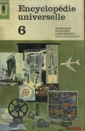 Encyclopedie Universelle 6 - Couverture - Format classique