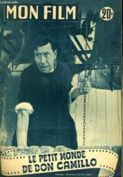Mon Film N° 371 - Le Petit Monde De Don Camillo - Couverture - Format classique