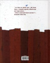 Chien fou - 4ème de couverture - Format classique