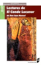 Lectures de El Conde Lucanor de Don Juan Manuel - Couverture - Format classique