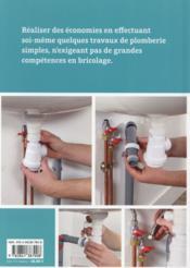 Plomberie - 4ème de couverture - Format classique