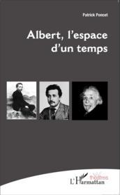 Albert l'espace d'un temps - Couverture - Format classique