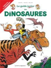Le guide junior t.19 ; les dinosaures - Couverture - Format classique