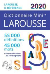 Dictionnaire Larousse mini plus 2020 - Couverture - Format classique