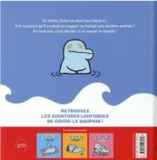 Cricri sauve le monde - 4ème de couverture - Format classique