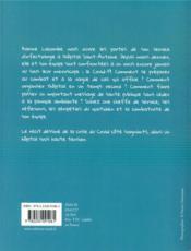 La médecin ; une infectiologue au temps du corona - 4ème de couverture - Format classique