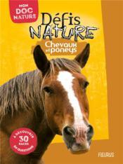 Chevaux et poneys - Couverture - Format classique