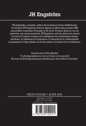 JH Engström - 4ème de couverture - Format classique