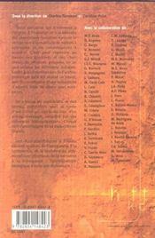 Dictionnaire d'anthropobiologie - 4ème de couverture - Format classique