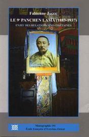 Le 9ème panchen Lama (1883-1937) ; enjeu des relations sino-tibétaines - Intérieur - Format classique
