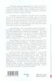 De giscard a mitterrand 1977-1983 - 4ème de couverture - Format classique