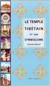 Temple Tibetain Et Son Symbolisme - Couverture - Format classique