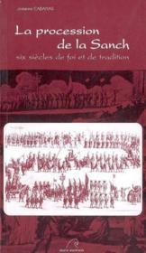 La procession de sanch - Couverture - Format classique