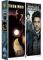 Iron Man + Sherlock Holmes - Couverture - Format classique