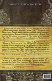 Les haut conteurs t.3 ; coeur de Lune - 4ème de couverture - Format classique