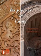 Les pierres et l'âme, fragments arméniens - Couverture - Format classique