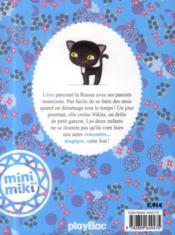 Léna et le chat aux yeux d'or - 4ème de couverture - Format classique