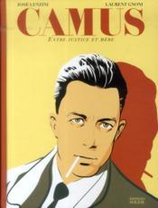 Camus ; entre justice et mère - Couverture - Format classique