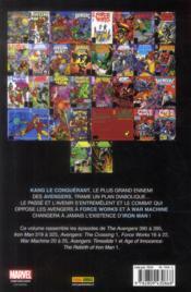 Avengers ; the crossing - 4ème de couverture - Format classique