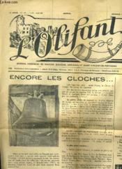 L'OLIFANT 13e ANNEE N°101 - ENCORE LES CLOCHES... - QUATRE HOMMES DANS UN TONNEAU... - Couverture - Format classique