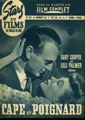 Stars Et Films - N°23 - Cape Et Poignard - Couverture - Format classique