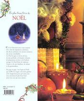 Le Plus Beau Livre De Noel - 4ème de couverture - Format classique