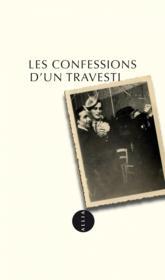 Les confessions d'un travesti - Couverture - Format classique