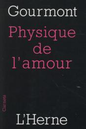 Physique de l'amour - Couverture - Format classique