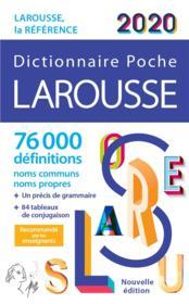 Larousse de poche (édition 2020) - Couverture - Format classique