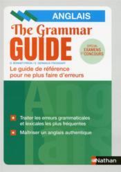 The grammar guide ; anglais (édition 2019) - Couverture - Format classique