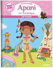 Les petites robes d'Aponi en Amérique (édition 2019) - Couverture - Format classique
