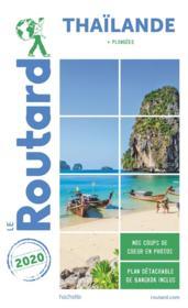 Guide du Routard ; Thaïlande ; + plongées (édition 2020) - Couverture - Format classique