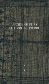 Le livre de Pierre - Couverture - Format classique