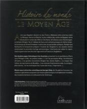 Histoire du monde ; le Moyen-Age - 4ème de couverture - Format classique